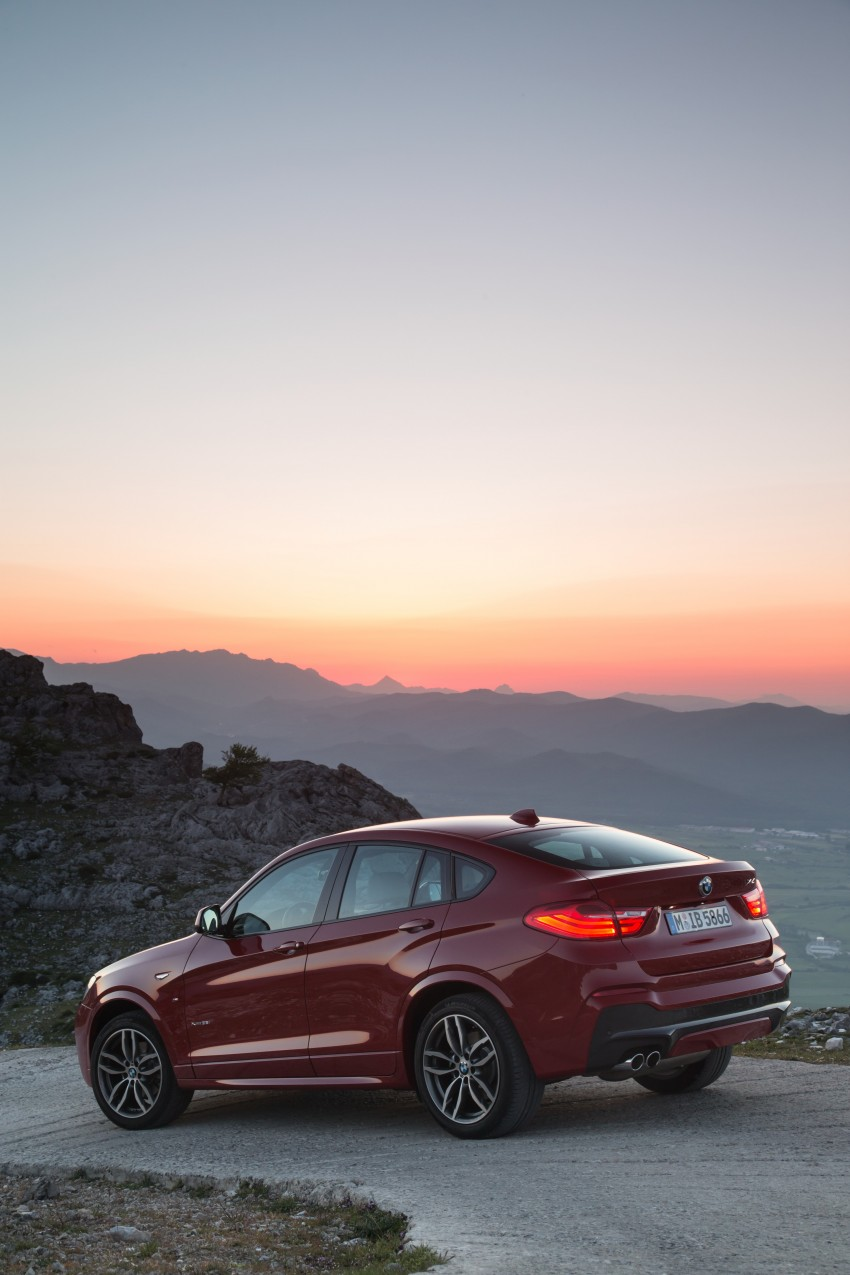 DRIVEN: F26 BMW X4 – the X3 redrawn as a 'coupe' Image #250130