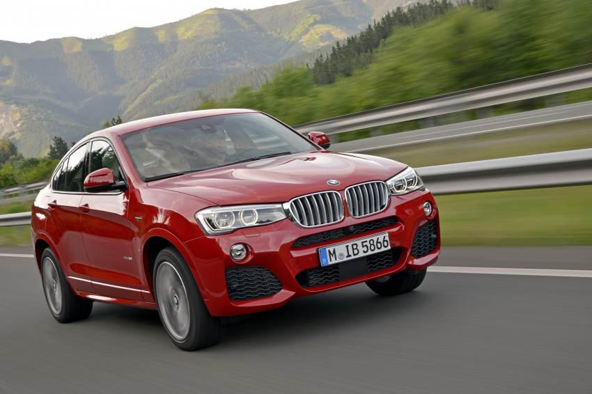 DRIVEN: F26 BMW X4 – the X3 redrawn as a 'coupe' Image #250066