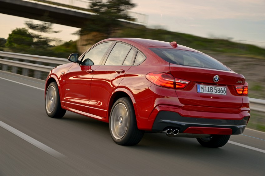 DRIVEN: F26 BMW X4 – the X3 redrawn as a 'coupe' Image #250079