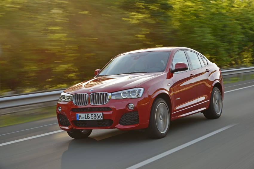 DRIVEN: F26 BMW X4 – the X3 redrawn as a 'coupe' Image #250092