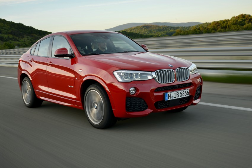 DRIVEN: F26 BMW X4 – the X3 redrawn as a 'coupe' Image #250114
