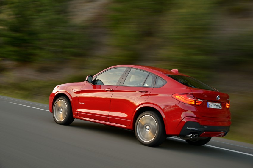 DRIVEN: F26 BMW X4 – the X3 redrawn as a 'coupe' Image #250116