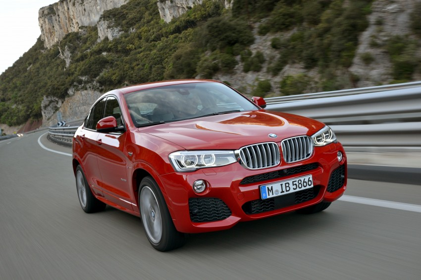 DRIVEN: F26 BMW X4 – the X3 redrawn as a 'coupe' Image #250033