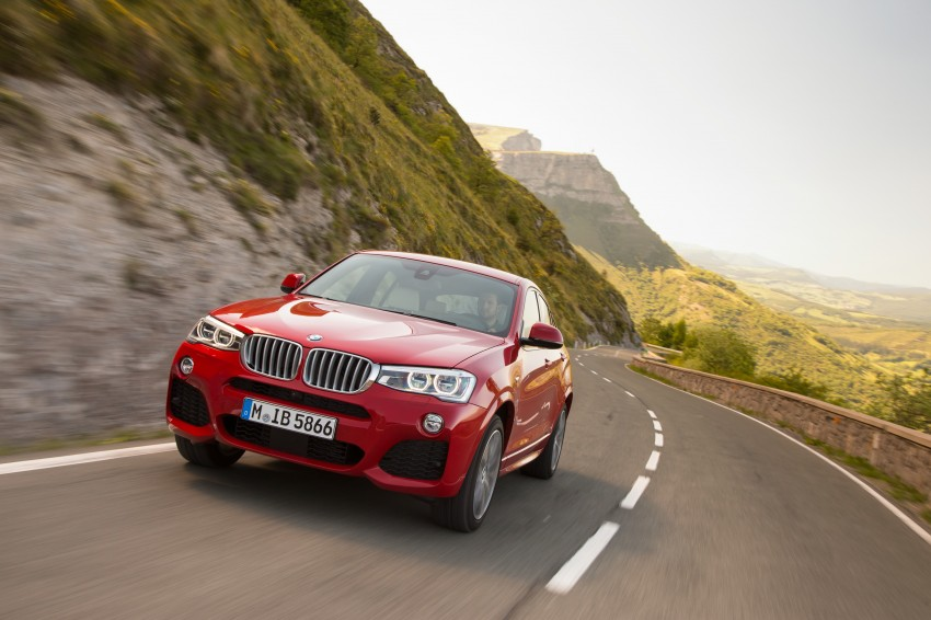 DRIVEN: F26 BMW X4 – the X3 redrawn as a 'coupe' Image #250102