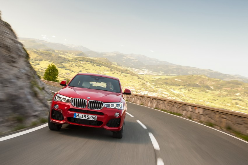 DRIVEN: F26 BMW X4 – the X3 redrawn as a 'coupe' Image #250139