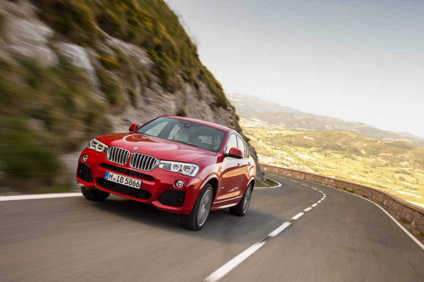 DRIVEN: F26 BMW X4 – the X3 redrawn as a 'coupe' Image #250097