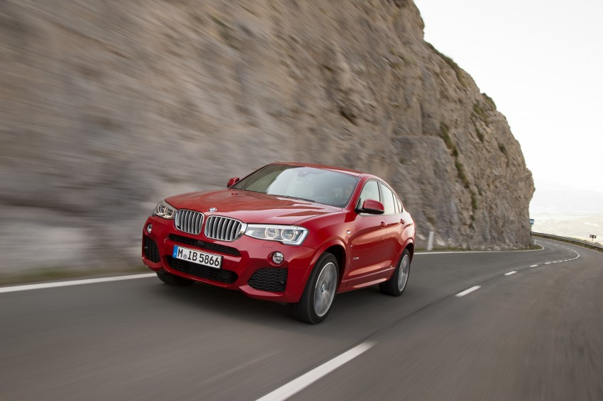 DRIVEN: F26 BMW X4 – the X3 redrawn as a 'coupe' Image #250141