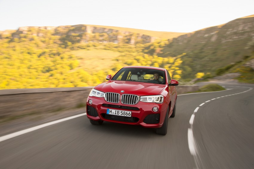DRIVEN: F26 BMW X4 – the X3 redrawn as a 'coupe' Image #250144
