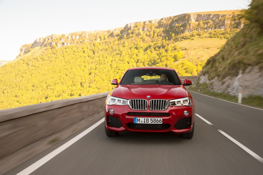 DRIVEN: F26 BMW X4 – the X3 redrawn as a 'coupe' Image #250058