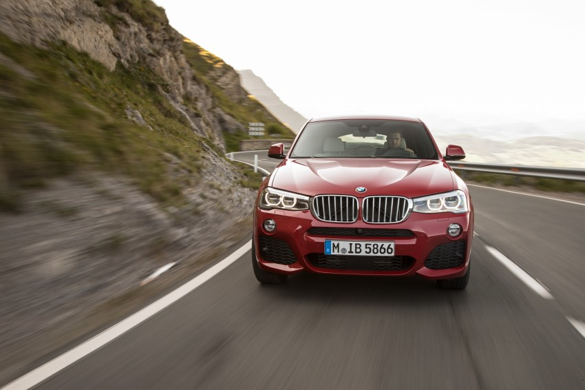 DRIVEN: F26 BMW X4 – the X3 redrawn as a 'coupe' Image #250140