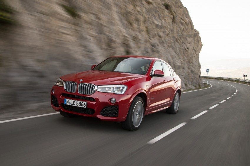 DRIVEN: F26 BMW X4 – the X3 redrawn as a 'coupe' Image #250126