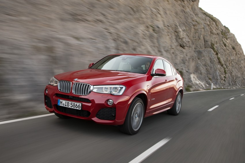 DRIVEN: F26 BMW X4 – the X3 redrawn as a 'coupe' Image #250112