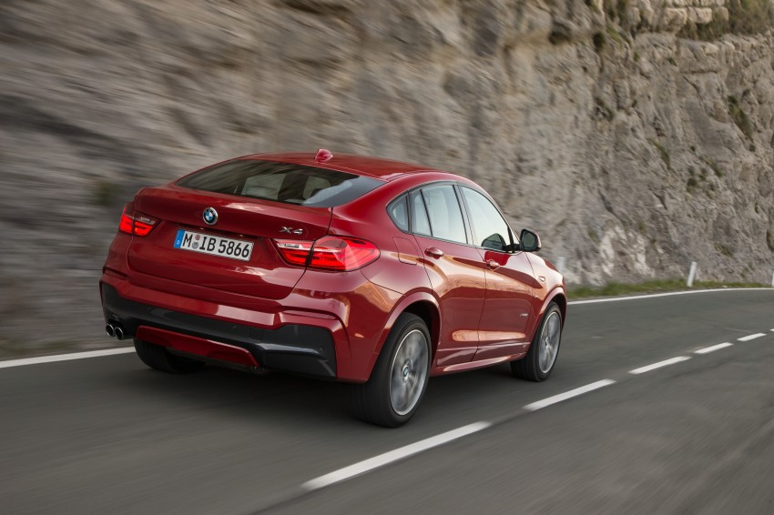 DRIVEN: F26 BMW X4 – the X3 redrawn as a 'coupe' Image #250063
