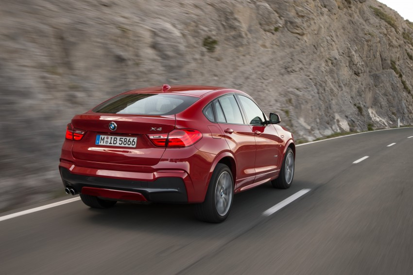 DRIVEN: F26 BMW X4 – the X3 redrawn as a 'coupe' Image #250106