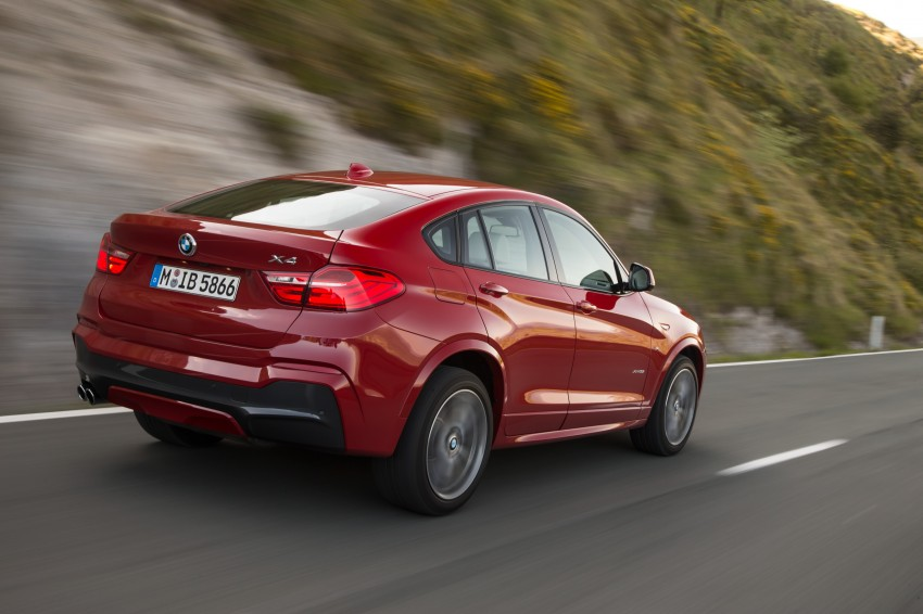 DRIVEN: F26 BMW X4 – the X3 redrawn as a 'coupe' Image #250131