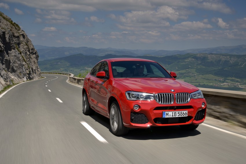 DRIVEN: F26 BMW X4 – the X3 redrawn as a 'coupe' Image #250129