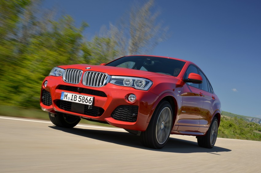 DRIVEN: F26 BMW X4 – the X3 redrawn as a 'coupe' Image #250108