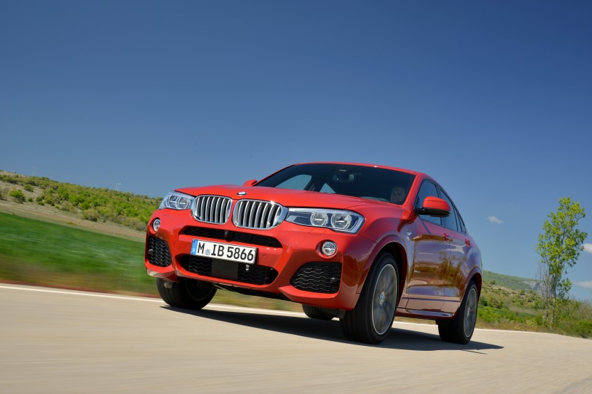 DRIVEN: F26 BMW X4 – the X3 redrawn as a 'coupe' Image #250134