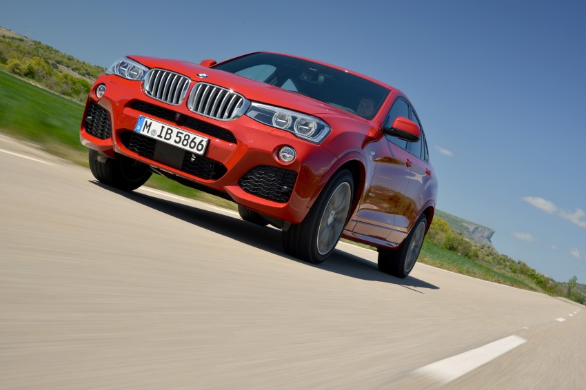DRIVEN: F26 BMW X4 – the X3 redrawn as a 'coupe' Image #250135