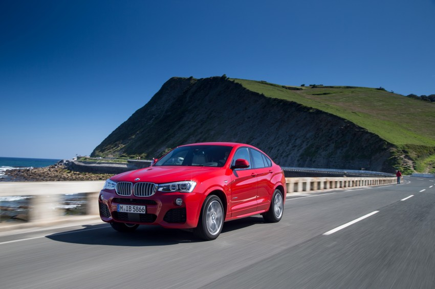 DRIVEN: F26 BMW X4 – the X3 redrawn as a 'coupe' Image #250100