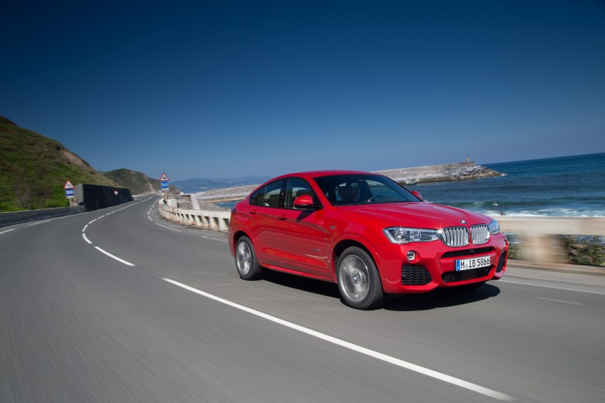 DRIVEN: F26 BMW X4 – the X3 redrawn as a 'coupe' Image #250133