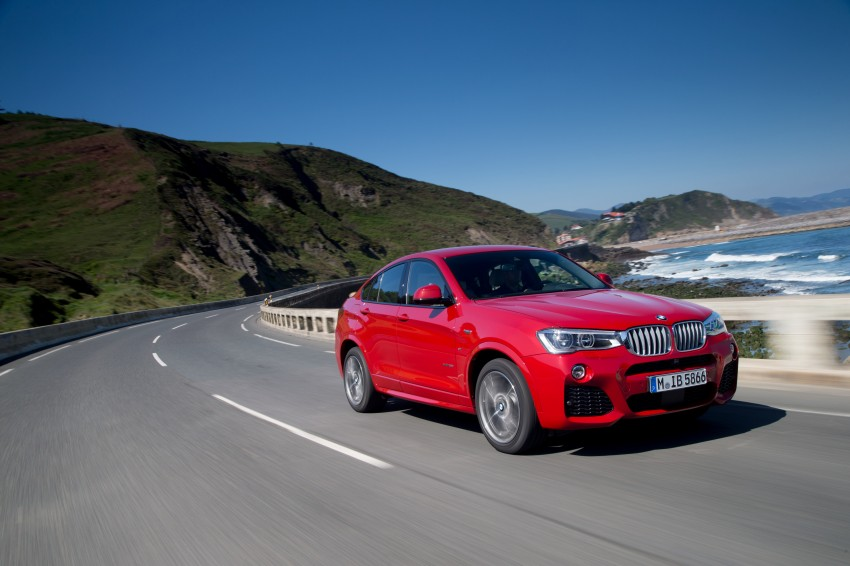 DRIVEN: F26 BMW X4 – the X3 redrawn as a 'coupe' Image #250098