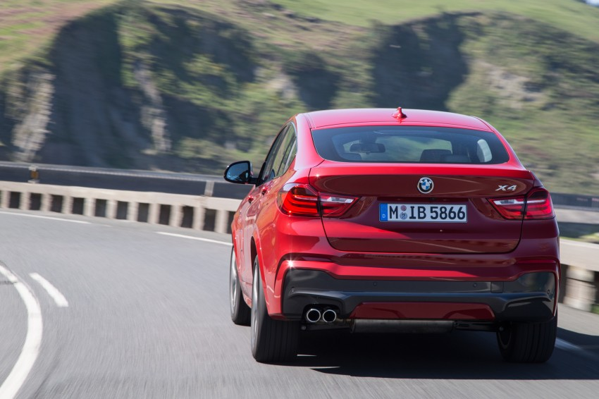 DRIVEN: F26 BMW X4 – the X3 redrawn as a 'coupe' Image #250121