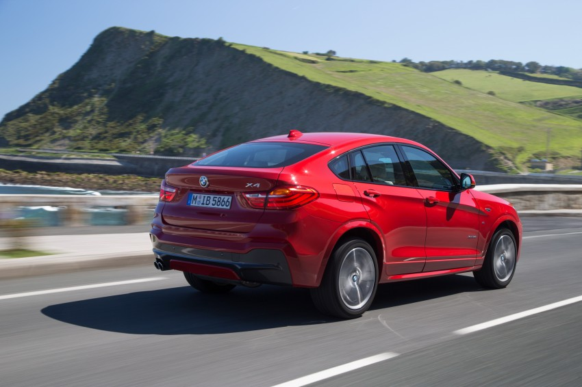DRIVEN: F26 BMW X4 – the X3 redrawn as a 'coupe' Image #250113