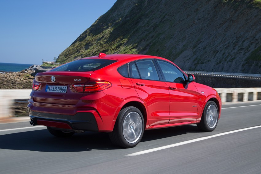 DRIVEN: F26 BMW X4 – the X3 redrawn as a 'coupe' Image #250107