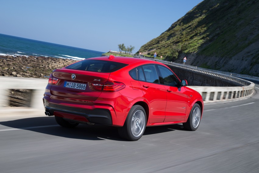 DRIVEN: F26 BMW X4 – the X3 redrawn as a 'coupe' Image #250117