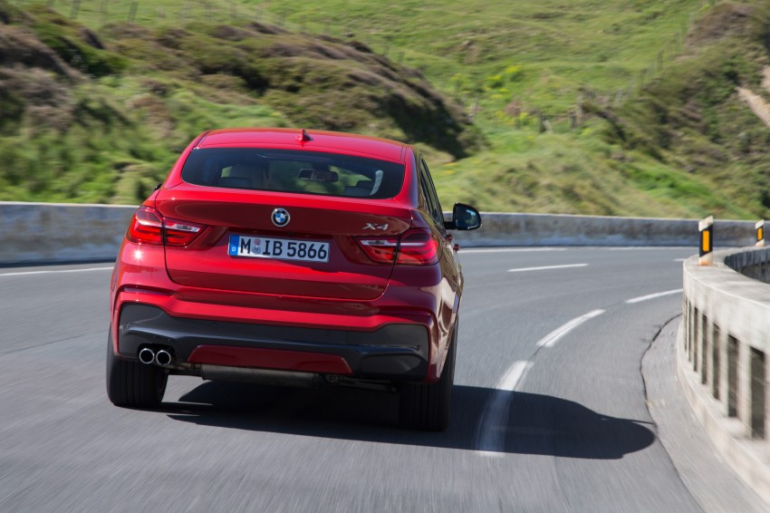 DRIVEN: F26 BMW X4 – the X3 redrawn as a 'coupe' Image #250084