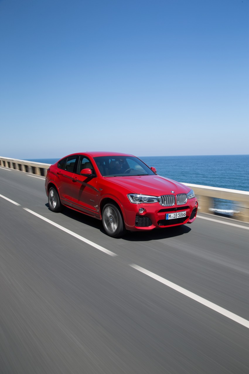 DRIVEN: F26 BMW X4 – the X3 redrawn as a 'coupe' Image #250157