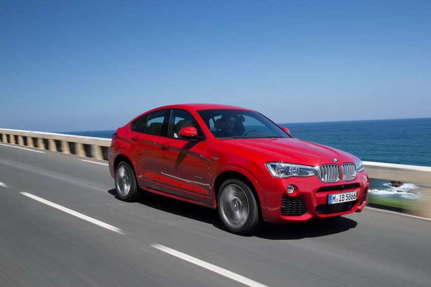 DRIVEN: F26 BMW X4 – the X3 redrawn as a 'coupe' Image #250138