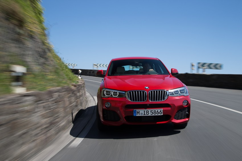 DRIVEN: F26 BMW X4 – the X3 redrawn as a 'coupe' Image #250132