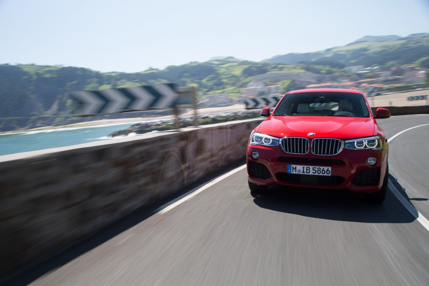 DRIVEN: F26 BMW X4 – the X3 redrawn as a 'coupe' Image #250142