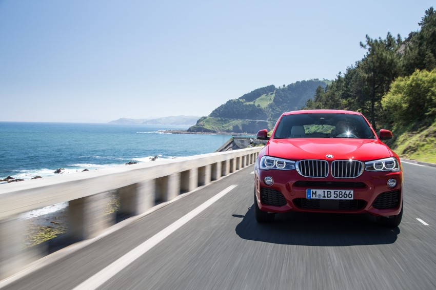 DRIVEN: F26 BMW X4 – the X3 redrawn as a 'coupe' Image #250087