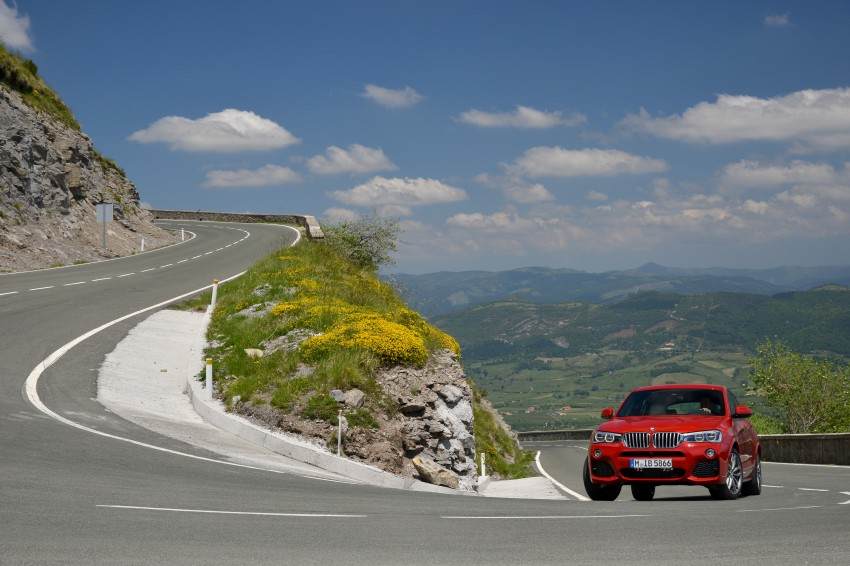 DRIVEN: F26 BMW X4 – the X3 redrawn as a 'coupe' Image #250018