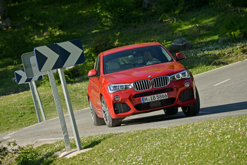 DRIVEN: F26 BMW X4 – the X3 redrawn as a 'coupe' Image #250024