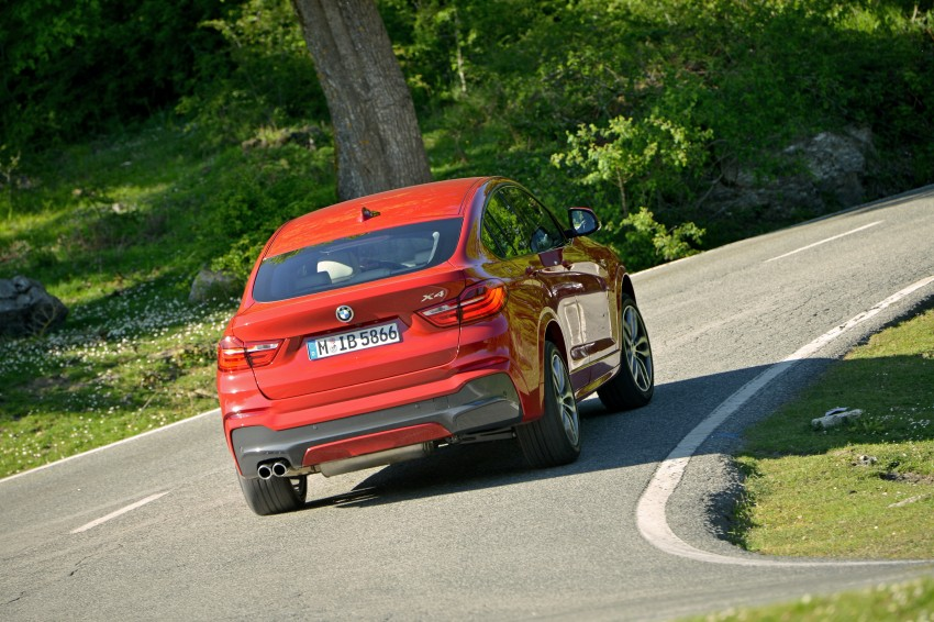 DRIVEN: F26 BMW X4 – the X3 redrawn as a 'coupe' Image #250021