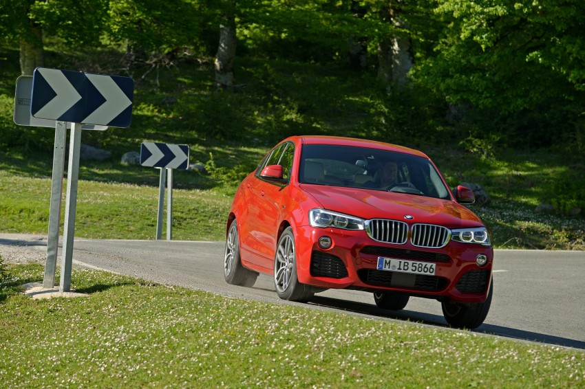 DRIVEN: F26 BMW X4 – the X3 redrawn as a 'coupe' Image #250022