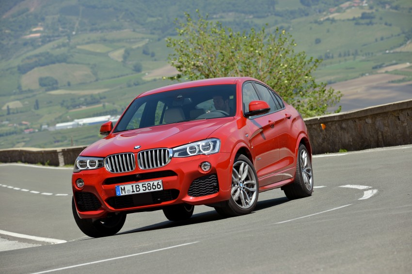 DRIVEN: F26 BMW X4 – the X3 redrawn as a 'coupe' Image #250074