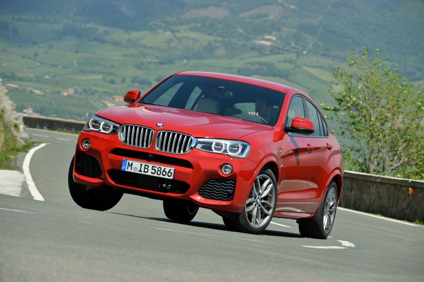 DRIVEN: F26 BMW X4 – the X3 redrawn as a 'coupe' Image #250101