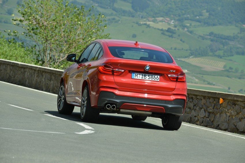 DRIVEN: F26 BMW X4 – the X3 redrawn as a 'coupe' Image #250057