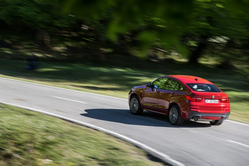 DRIVEN: F26 BMW X4 – the X3 redrawn as a 'coupe' Image #250077
