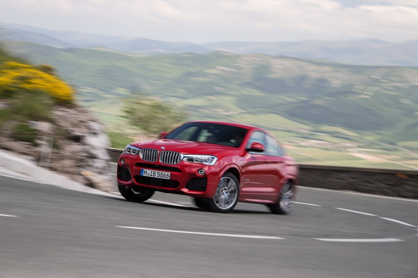 DRIVEN: F26 BMW X4 – the X3 redrawn as a 'coupe' Image #250150