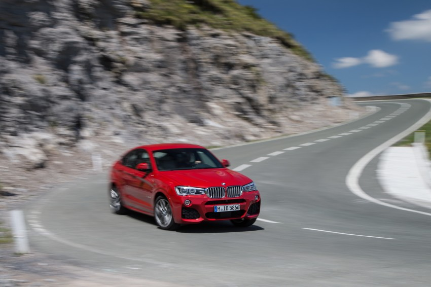 DRIVEN: F26 BMW X4 – the X3 redrawn as a 'coupe' Image #250136