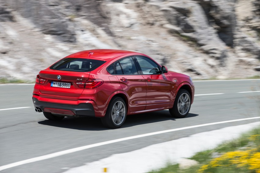 DRIVEN: F26 BMW X4 – the X3 redrawn as a 'coupe' Image #250137