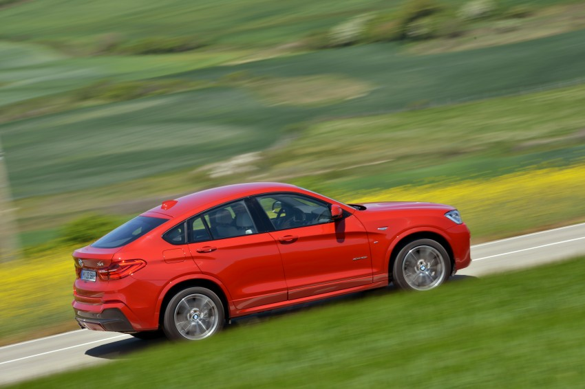 DRIVEN: F26 BMW X4 – the X3 redrawn as a 'coupe' Image #250149