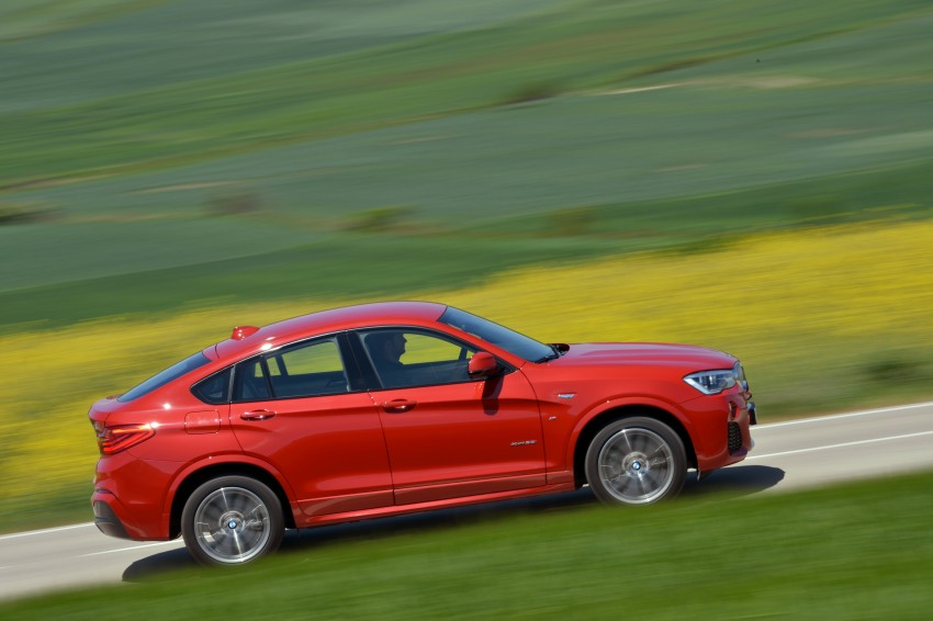 DRIVEN: F26 BMW X4 – the X3 redrawn as a 'coupe' Image #250152