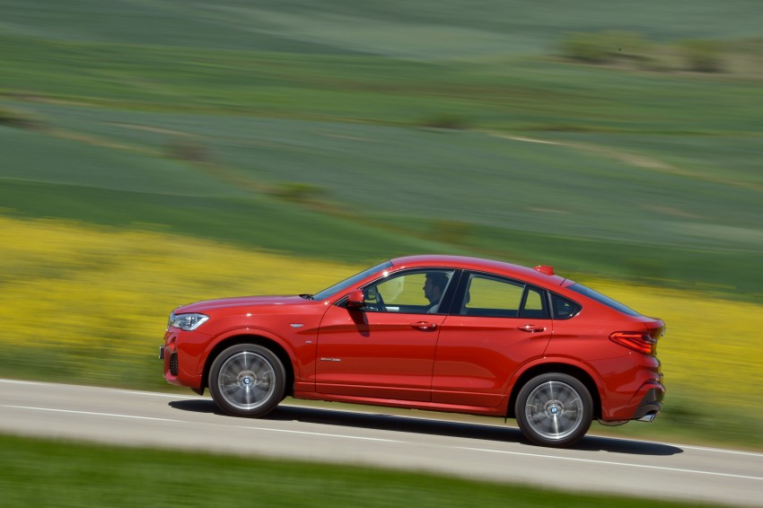 DRIVEN: F26 BMW X4 – the X3 redrawn as a 'coupe' Image #250146